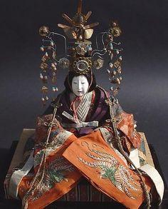 Majestic Japanese Doll