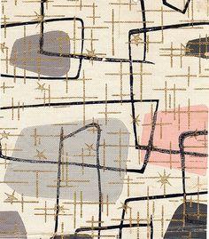 Retro Atomic Wallpaper on WallpaperSafari Style Vintage, Vintage Decor, Retro Vintage, 1950s Decor, Textile Design, Fabric Design, Pattern Design, Mid Century Modern Design, Mid Century Style