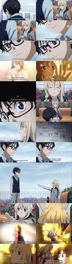 Shigatsu wa kimi no uso, Your Lie in April, Kaori, Kousei
