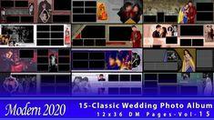 15 New 2020 Classic Wedding Photo Album 12x36 DM Pages-Vol-15