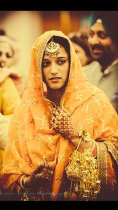 @amu13 Punjabi bride such a beauty