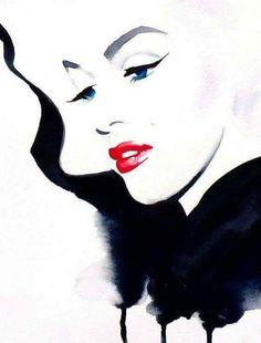 Marilyn Monroe, artist unknown