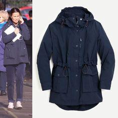 Pippa Middleton Style, Capsule Wardrobe, J Crew, Rain Jacket, Raincoat, Jackets, Outfits, Shopping, Fashion
