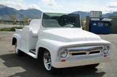 56 Ford pickup custom golf cart #GolfCarts