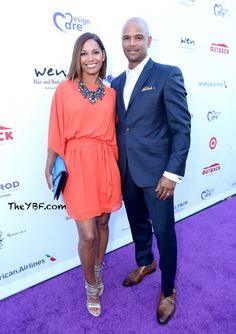 Salli Richardson Whitfield and husband Dondre Whitfield Black Celebrity Couples, Black Couples, Cute Couples, My Black Is Beautiful, Beautiful Couple, Black Love, Black Celebrities, Famous Celebrities, Fashion Couple