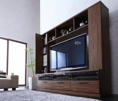 ハイタイプテレビボード【LEGGENDA】レジェンダ -  これEね in the Room