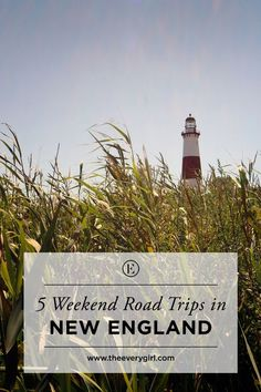 5 Weekend Road Trips in New England that also make great romantic getaways.