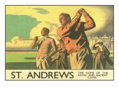 St. Andrews Golf Course Giclee Print at Art.com