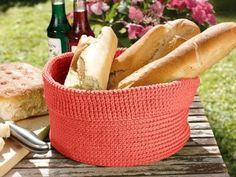 Bread Basket Kit - Crocheting Kit includes Yarn & Pattern!