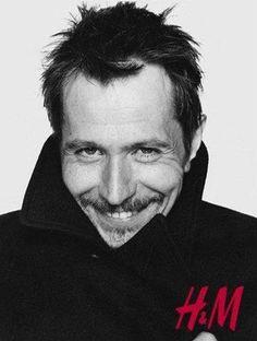 Gary Oldman H & M photo shoot