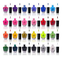 SHANY Cosmopolitan Nail Polish set - Pack of 24 Colors - Premium Quality & Quick Dry Best Makeup Brushes, Nail Brushes, Makeup Brush Set, Best Makeup Products, Diy Nail Polish, Nail Polish Sets, Diy Nails, Cosmetic Display, Cosmetic Design