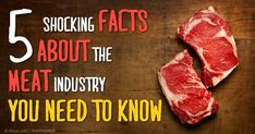 Industrial farming has wide-ranging problems, which destroy food quality and safety. http://articles.mercola.com/sites/articles/archive/2014/11/25/shocking-facts-meat-industry.aspx