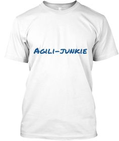 Our dogs love agility, so we know what they think of the weave poles. We thought how great it would be to let them know we have their back, we agility parents get it. So show your support and grab your funny but supportive t-shirt. :-)