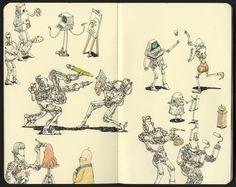 Mattias Inks: Artificial Intelligence will take over all art pro...
