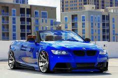 BMW E93 3 series cabrio blue slammed tomandrichiehandy.myvi.net/recessionproof