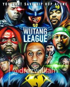 Illustrated by drezWilliam Arte Hip Hop, Hip Hop Art, Top Hip Hop Songs, Wu Tang Collection, Hiphop, Systems Art, Ghostface Killah, Rapper Art, Wu Tang Clan