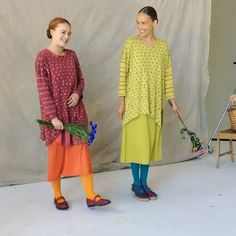 The sun shines in the studio today! We are shooting the SPRING 2017 catalogue with these amazing women! Here is a sneak peek of Gudrun's…