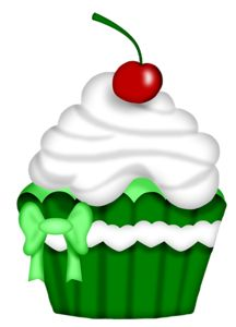 Cupcake Pictures, Cupcake Images, Cupcake Art, Christmas Paintings, Christmas Art, Xmas, Rainbow Cupcakes, Cute Cupcakes, Art Drawings For Kids