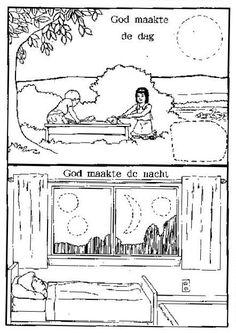 God schiep dag en nacht