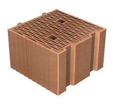 Pieza base de Termoarcilla ECO3 de 30cm de Ceramica La Coma SA #termoarcilla