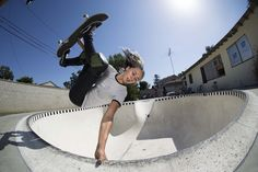 Sunny side up with Vans Skate's Lizzie Armanto.