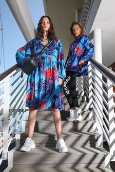 ICE PLAY Men & Women Spring Summer 2021 - NOWFASHION Live Fashion, Fashion Show, Runway Fashion, Womens Fashion, Fashion Trends, Ice Play, Fashion Silhouette, Fashion Fabric, Fashion Lookbook