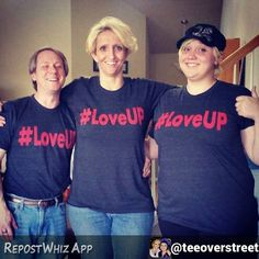 #LoveUP runs in the family! Thank you for the support @teeoverstreet via @RepostWhiz app: The only thing I asked for for Mother's Day was a family picture wearing our #loveup shirts. #LoveUP @johnjayvanes  @loveupshirt @johnjayandrich @frogcat1o1 #loveupshirt @reconapparelprinting (#RepostWhiz app) #LoveUP #blessings #payitforward
