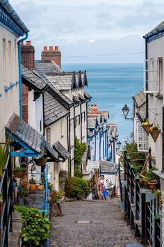 Clovelly, Devon, England More