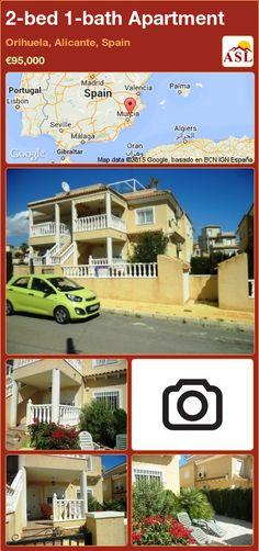 Apartment for Sale in Orihuela, Alicante, Spain with 2 bedrooms, 1 bathroom - A Spanish Life Apartments For Sale, Murcia, Valencia, Built In Robes, Alicante Spain, Seville, Casablanca, Lisbon, Sevilla