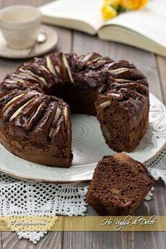 Ciambella alle pere e cioccolato soffice ricetta Ho Voglia di Dolce blog