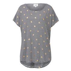 Shop now: Star Foil Print Tee. #seedheritage #seed #woman