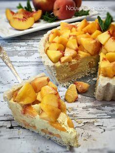 Crème-Fraîche-Blush-Peach-Pie