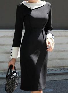 Shop Floryday for affordable Elegant Dresses. Floryday offers latest ladies' Elegant Dresses collections to fit every occasion. Affordable Dresses, Elegant Dresses, Casual Dresses, Dresses For Work, Trendy Dresses, Long Sleeve Work Dress, Looks Kate Middleton, Buy Dress, Camo Dress