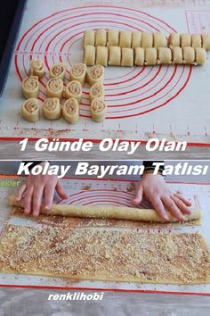 Easy Holiday Desserts, Arabic Sweets, Turkish Recipes, Food Design, Cake Recipes, Deserts, Food And Drink, Cooking, Breakfast
