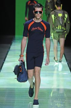 Louis Vuitton Men's RTW Spring 2013 - a $2000 yoga outfit!  would never pay this much for workout clothes
