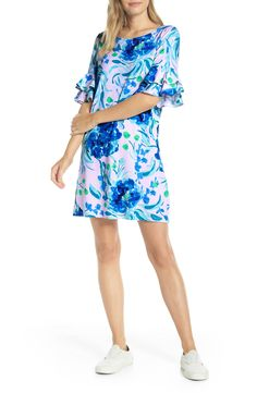online shopping for Lilly Pulitzer Lula Ruffle Sleeve Shift Dress from top store. See new offer for Lilly Pulitzer Lula Ruffle Sleeve Shift Dress Lace Sheath Dress, Ruched Dress, Fit Flare Dress, Nordstrom Dresses, Ruffle Sleeve, Women's Fashion Dresses, Dresses Online, Dresses With Sleeves, Lilly Pulitzer
