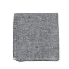 These linen napkins (in always-cool chambray) get softer with every wash—you won't want to use anything else. (Hint: Wash these once before using) 100% linen M