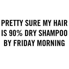 Those end of week dirty hair feels. We definitely have a head full of dry shampoo and a topknot right now. www.hellohair.com.au #dryshampoolife #hairposts #hairstruggles
