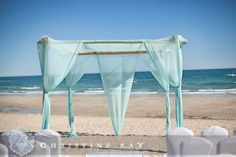 wedding arbors ideas | ... Events: Tiffany Inspired Destination Beach Wedding: Aaron and Rachelle