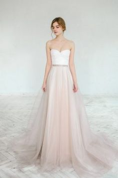 2 pieces Blush wedding gown - Dahlia