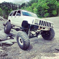 Jeep XJ . . . Jeep Suspension Action!
