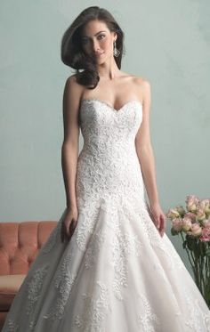 Sweetheart Wedding Gown by Allure Bridals 9159