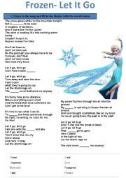 English worksheets: songs worksheets, page 10