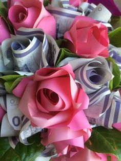 Money, Flowers, Plants, Gifts, Favors, Silver, Flora, Presents, Royal Icing Flowers