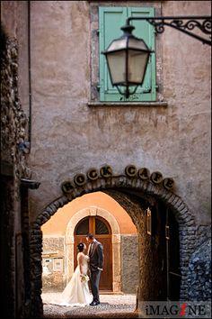 Malcesine Castle, Italy - beautiful wedding setting!