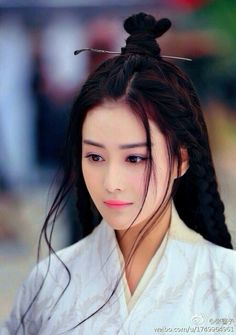 The Empress of China 《少女武则天》 Zhang Xinyu, also known as Viann Zhang, is a Chinese actress, singer and model Bob Black, The Empress Of China, Traditional Hairstyle, Fan Bingbing, Asian Hair, Grunge Hair, Beautiful Asian Women, Blue Hair, Beauty Women