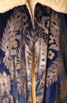 Evening coat Designer: Maria Gallenga (Italian, Rome 1880–1944 Umbria) Date: 1925–26 Culture: Italian Medium: silk, fur