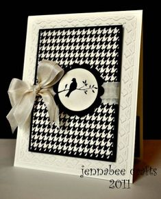TLC308, A Simple Silhouette, SUO by Jenna Barber - Cards and Paper Crafts at Splitcoaststampers