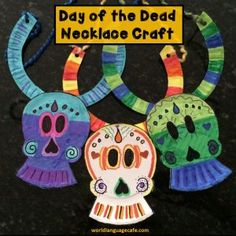 Day of the Dead, Día de los Muertos Spanish Lesson Plans and Ideas Elementary Art Lesson Plans, Spanish Lesson Plans, Elementary Spanish, Spanish Class, Spanish Lessons, Day Of The Dead, Craft Activities, Spice Things Up, How To Plan