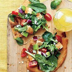 Cobb Salad Pizza | CookingLight.com
